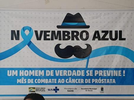 UBS Álvaro Araújo Nobre no Tocantins inicia campanha de prevenção ao câncer de próstata