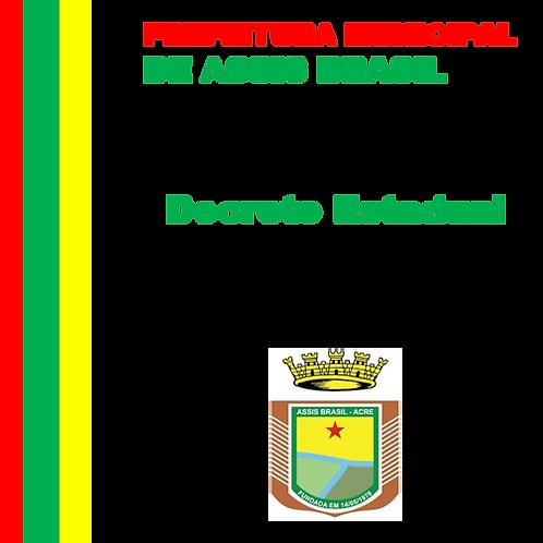 Decreto Estadual N° 6.206/2020 - Pacto Acre Sem COVID