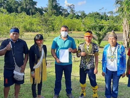 Prefeito visita sítio paraíso tucunixi para ouvir reivindicações da população indígena