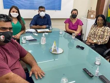 Vereadores se reúnem na Casa Civil do Governo do Acre e reivindicam melhorias para o Quinari
