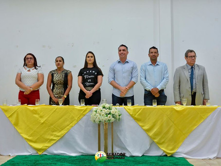 Prefeito participa da cerimônia de posse dos novos conselheiros tutelares