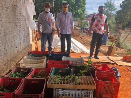 Prefeito André Maia visita zona rural e garante apoio a produção agrícola de Senador Guiomard