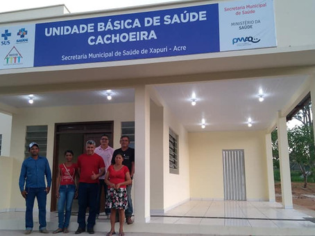 Prefeito visita Unidade Básica e informa que está próxima de ser inaugurada