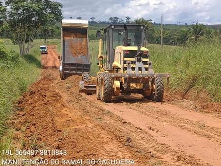 Prefeitura continua garantindo trafegabilidade nos ramais de Xapuri
