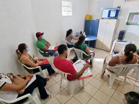 Agentes comunitários de saúde, da Prefeitura de Senador Guiomard, participam de capacitação