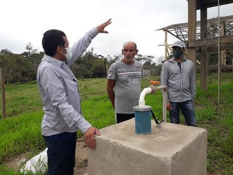 Marechal Thaumaturgo finaliza os trabalhos da construção de sistema de abastecimento de água
