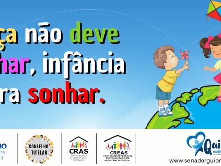 Prefeitura realizará ação ao Dia Mundial de Combate ao Trabalho Infantil no dia 11 de junho