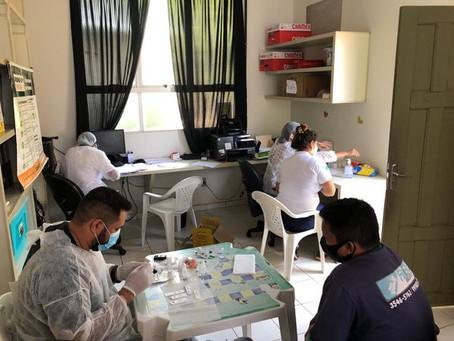 Parceria: Saúde Municipal de Porto Acre atende servidores a pedido do Detran/AC