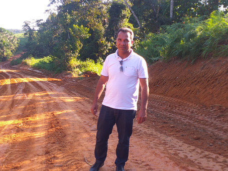 Prefeitura de Rodrigues Alves realiza recuperação do Ramal da Bananeira