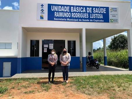 Vereadora Sara Frank tem vasta agenda de visitas em benefício da população