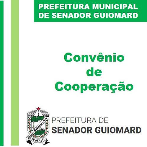 Convênio N° 001/2020  - Mão de obra dos apenados
