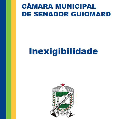 Inexigibilidade 001/2019 - APLICATIVO DE ACOMPANHAMENTO DE OBRIGAÇÕES