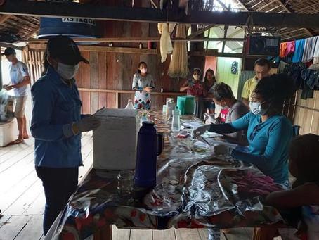 Prefeito visita e abre diálogo com a comunidade Pau Brasil e busca soluções para as famílias