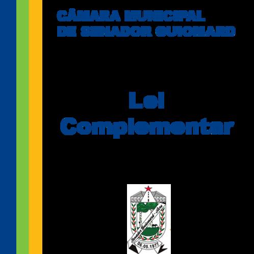 Lei Complementar N° 50/1985