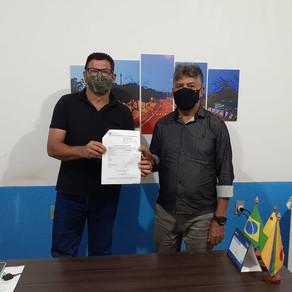 Prefeitura de Capixaba recebe emendas do deputado Antônio Pedro