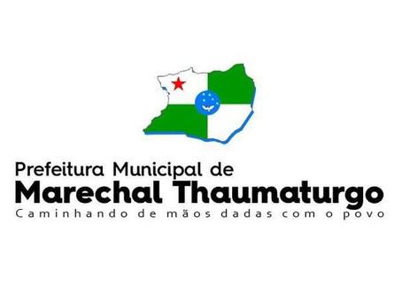 Prefeitura de Marechal Thaumaturgo divulga edital de Processo Seletivo Simplificado