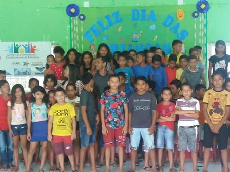Prefeitura e vice Valdélio  Furtado apoiam secretária Fátima no dia das crianças