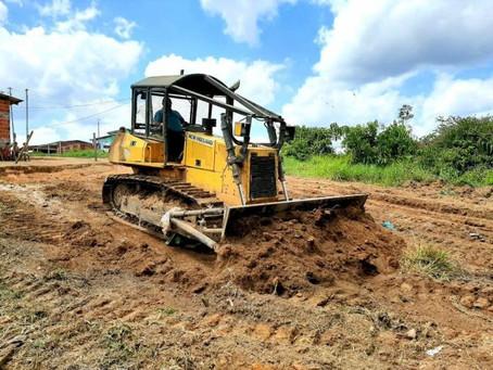 Prefeitura de Rodrigues Alves dá início as obras de revitalização e limpeza no bairro Dário Pereira