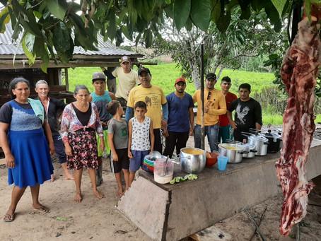 Vereador Pedro Cláver visita comunidade da zona rural em Tarauacá