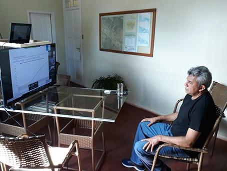 Prefeito participa do I Workshop On-line para controle do COVID-19 nos municípios acreanos