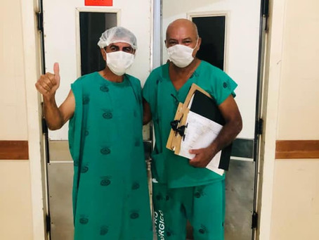Comunicado: Prefeito Bené Damasceno realiza procedimento cirúrgico e passa bem