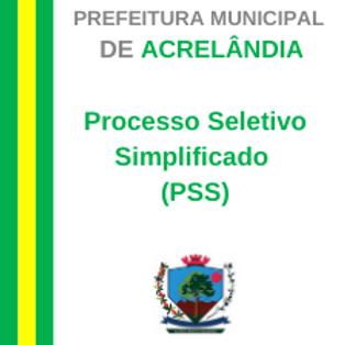 PSS Nº 001/2021 - CONTRATAÇÃO TEMPORÁRIA DE BOLSISTAS