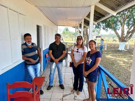 Vereadora acompanha recuperação dos ramais Oco do Mundo e da Limeira