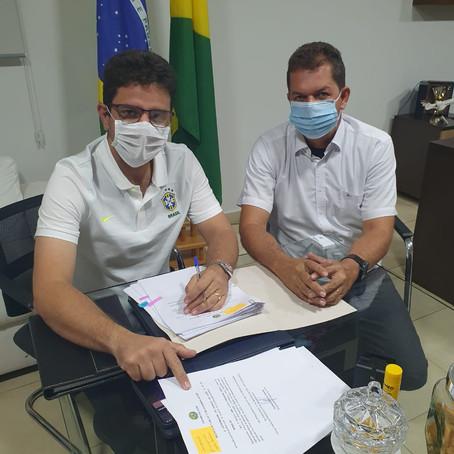 Parceria: Prefeito Kiefer Cavalcante garantiu parceria do Governador para investimentos em Feijó