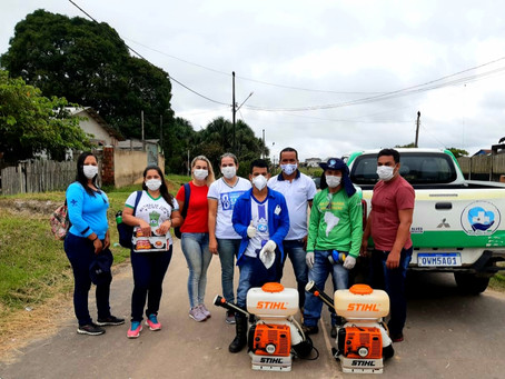 Rodrigues Alves - Prefeitura realiza ação de educação em saúde no controle vetorial de dengue