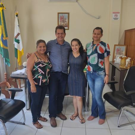 Prefeito Kiefer Cavalcante apoia resgate da Associação das Mulheres em Feijó