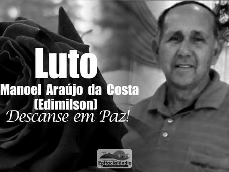 Nota de Pesar: Manoel Araújo da Costa