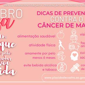 Prefeitura Municipal promove campanha Outubro Rosa