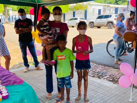 CRAS Chico Mendes promove diversão e alegria aos participantes de programas sociais