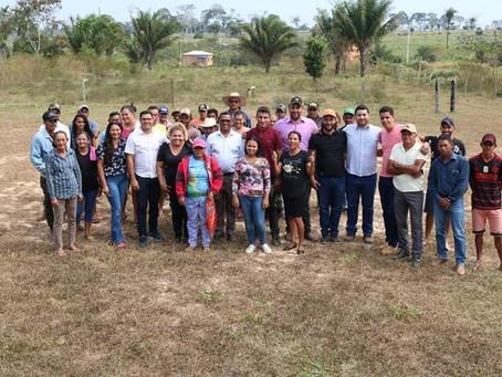 Vereadores cumprem agenda na comunidade do Capatará e prestigiam posse da diretoria da Associação