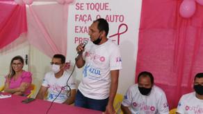 Prefeitura de Marechal Thaumaturgo através da secretaria de saúde inicia uma campanha Outubro Rosa