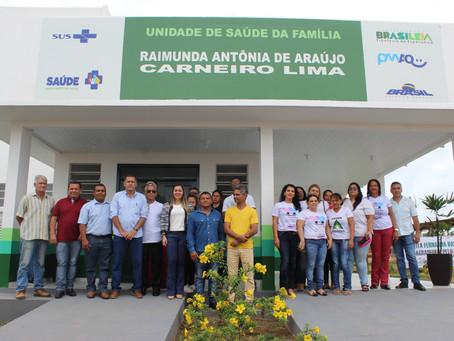 Prefeita Fernanda Hassem inaugura a 5ª Unidade Básica de Saúde