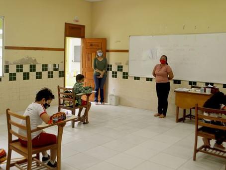 Avaliação Diagnóstica é realizada nos alunos da Escola Rita Maia em Xapuri