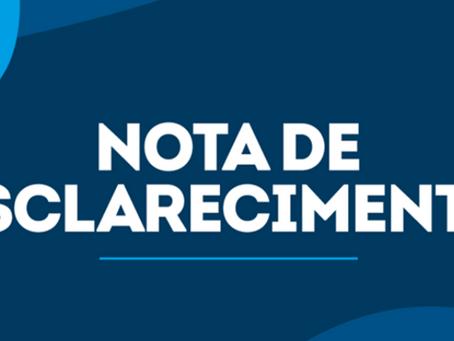Nota de esclarecimento do prefeito Isaac Piyãko sobre operação off-label