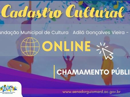 Chamamento público: Prefeitura e FUNCAV iniciam cadastro cultural municipal