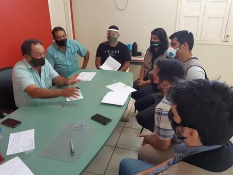 Padeiro recebe equipe da AMAC para levantamento de obras e definição de emendas parlamentares