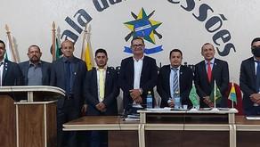 Tanízio Sá participa da 18º sessão ordinária na Câmara de Manoel Urbano