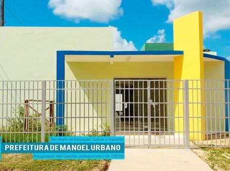 Prefeitura inaugurará quadras poliesportivas e Creas nesta sexta, 16