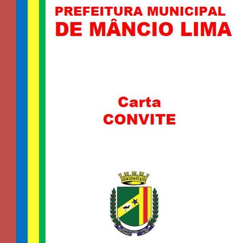CC N° 03/2018 (serviços de consultoria, assessoria, prestação de Contas)