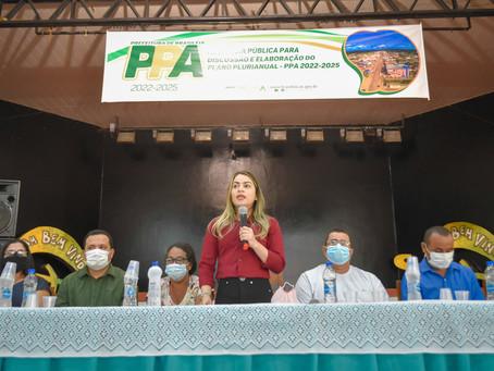 Prefeitura de Brasileia realiza audiência pública para elaboração do PPA 2022-2025