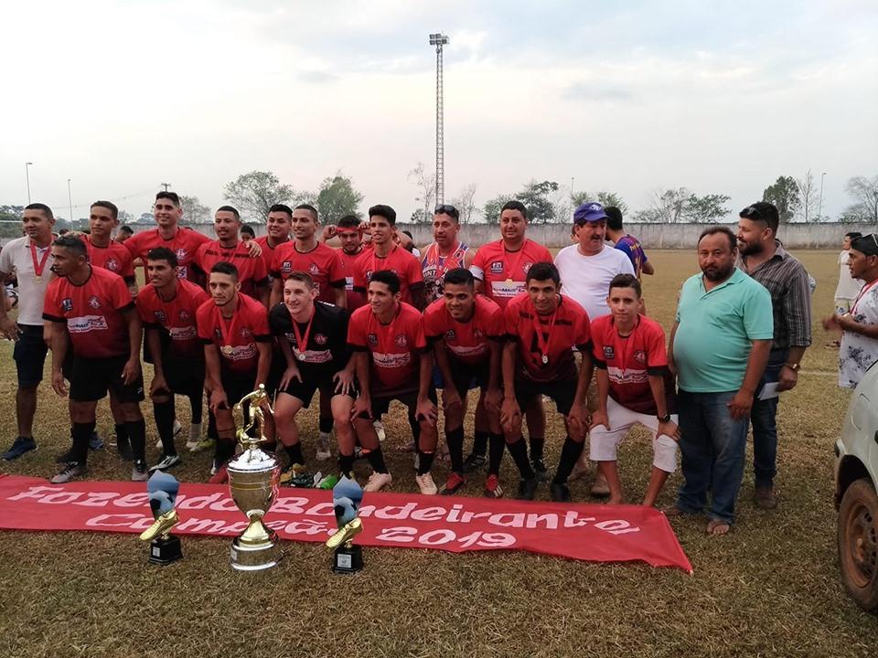 Fazenda Bandeirantes - Campeão do Torneio