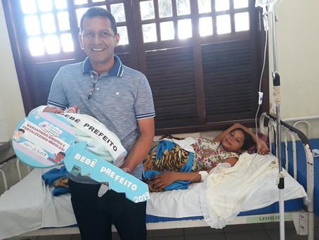 Dia da escolha do Prefeito Bebê na 5ª semana do Prefeito Bebê de Marechal Thaumaturgo