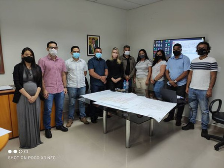 Prefeito Naudo busca ações para dar celeridade a obras no Jordão em parceria com o Governo Estadual