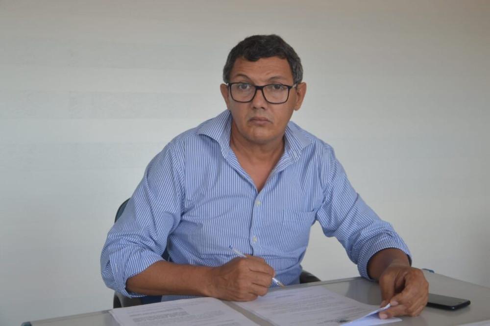 Vice-prefeito Marquinhos (PP) e prefeito em exercício de Acrelândia
