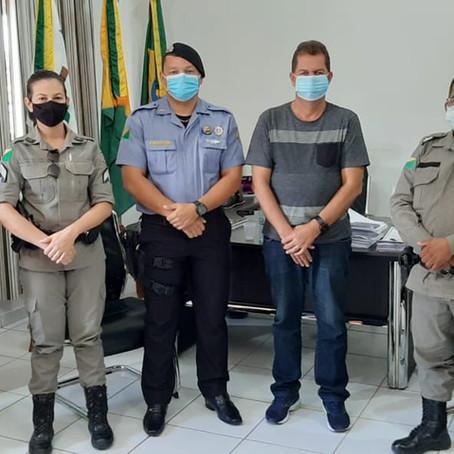 Parceria entre Prefeitura e Polícia Militar, revitalizarão sinalização de vias e avenidas de Feijó