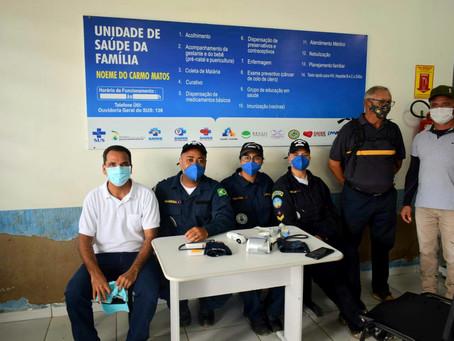 Prefeitura de Rodrigues Alves em parceria com a marinha do Brasil, inicia atendimento de saúde